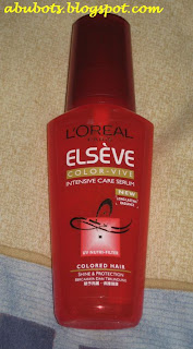 the new elseve color vive intensive care serum with patented uv nutri filter and cationic polymers protect hair from external aggression and prolongs color - Elseve Color Vive