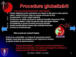 procedura globalizarii