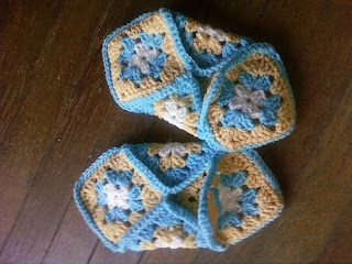 GRANNY SQUARE CROCHET SLIPPERS | Crochet For Beginners