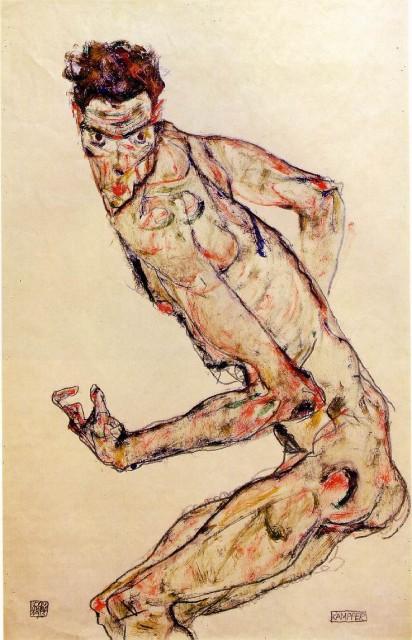 Egon Schiele - Page 2 Egon_Schiele_-_Fighter