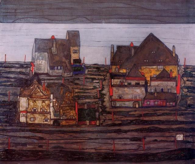Egon Schiele - Page 3 Egon_Schiele_-_Suburb