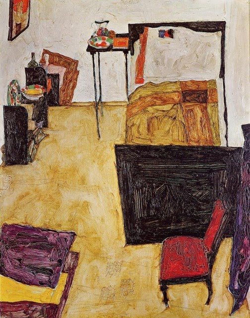 Egon Schiele - Page 3 Egon_Schiele_-_Schiele_s_Room_in_Neulengbach