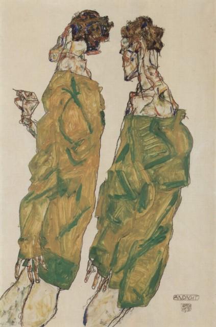 Egon Schiele - Page 3 Egon_Schiele_-_Devotion