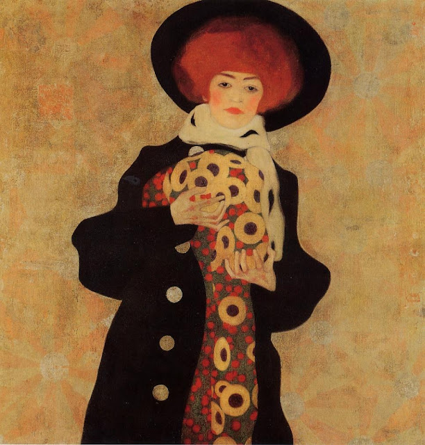 Egon Schiele - Page 3 Egon_Schiele_-_Woman_with_Black_Hat