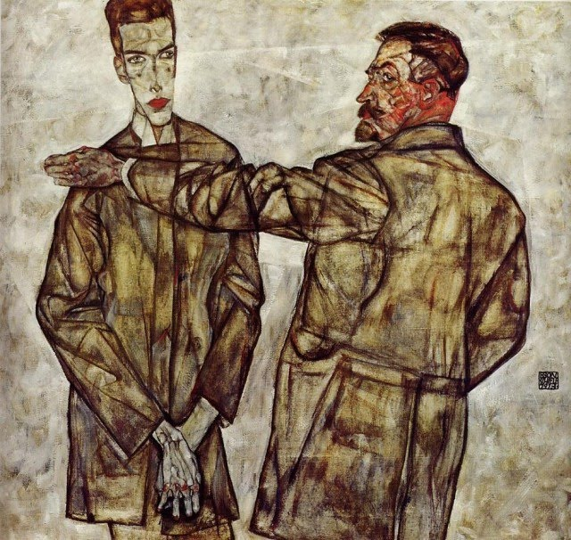 Egon Schiele - Page 3 Egon_Schiele_-_Double_Portrait_of_Heinrich_Bensch_and_his_Son_Otto
