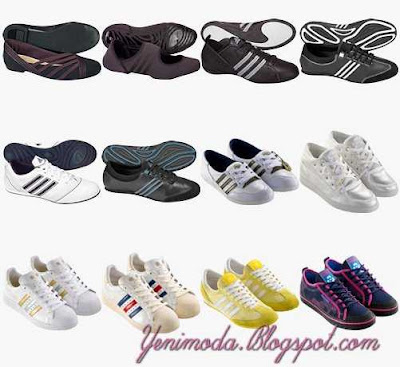 adidasBayanAyakkabi 3 yenimoda.blogspot.com Adidas Bayan Spor Ayakkabi Modelleri