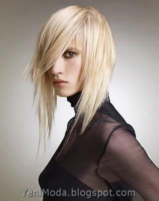 Saç kesim modelleri olarak en çok tercih edilen bayan saç modelleri