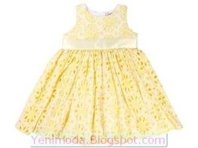 bayramlik elbise 4 yenimoda.blogspot.com Bayramlık Çocuk Elbise Modelleri