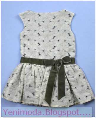 bayramlik elbise 11 yenimoda.blogspot.com Bayramlık Çocuk Elbise Modelleri