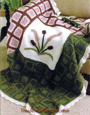 battaniye7 yenimoda.blogspot.com Battaniye Örnekleri Battaniye Modelleri