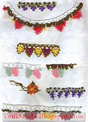 oya modelleri5 yenimoda.blogspot.com Oya Modelleri  Elişi Oya Örnekleri
