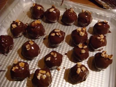 hazelnut butter balls