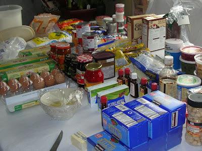 holiday baking supplies