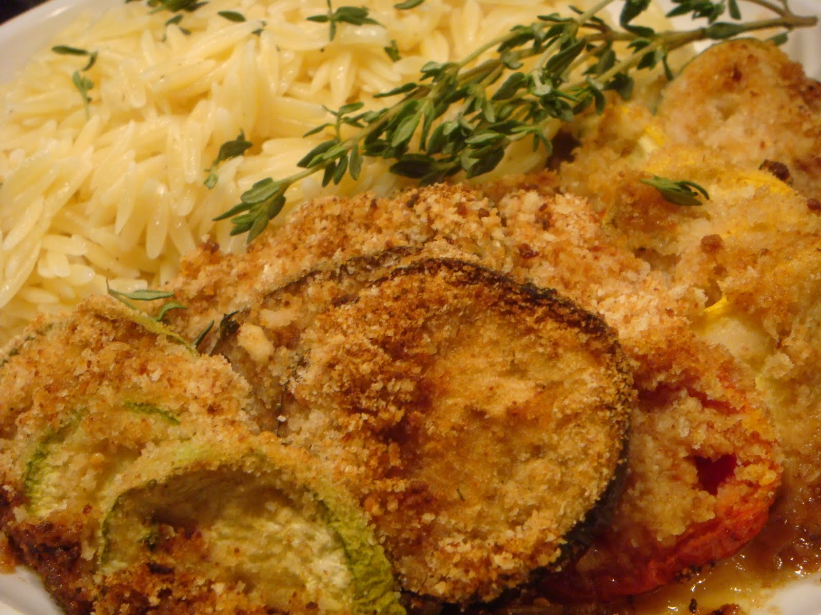 Summer Vegetable Gratin (adapted from Ad Hoc at Home )