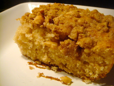 Applesauce walnut coffee cake