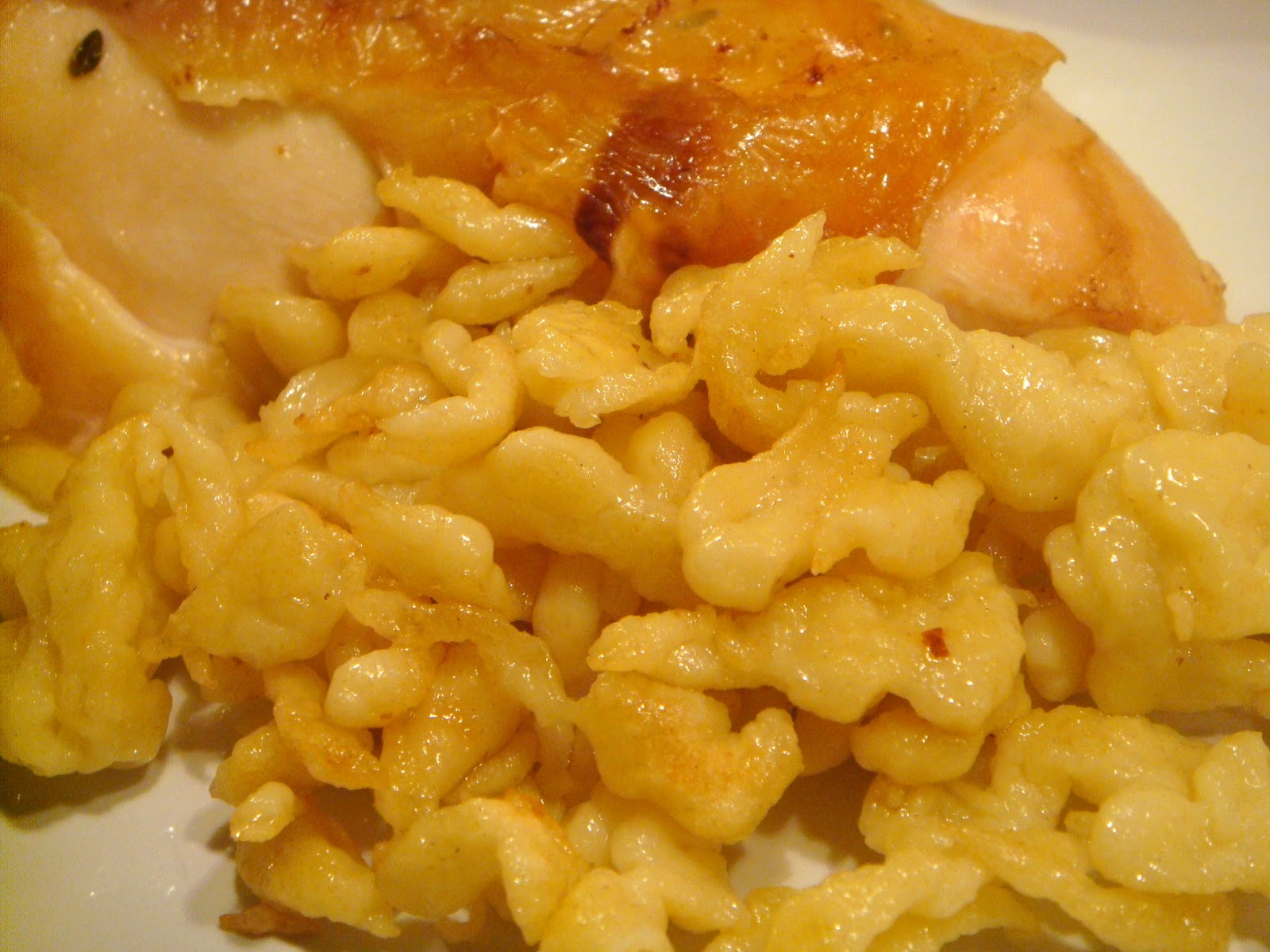 Delicious Dishings: Roast Chicken And Spaetzle