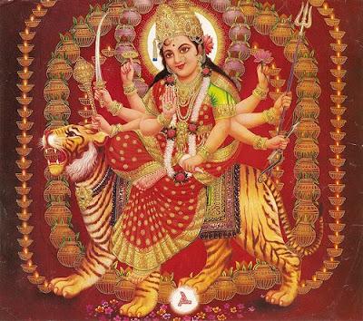 durga. of Goddess Durga Maa - Maa