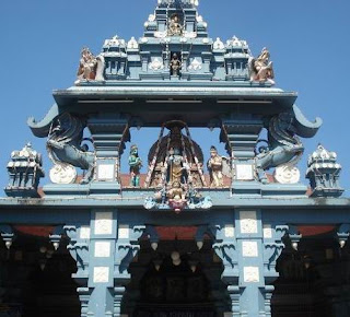 Picture of Udupi Krishna Temple in Karnataka India