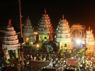 Kalpathy Ratholsavam Festival at Palakkad Kerala