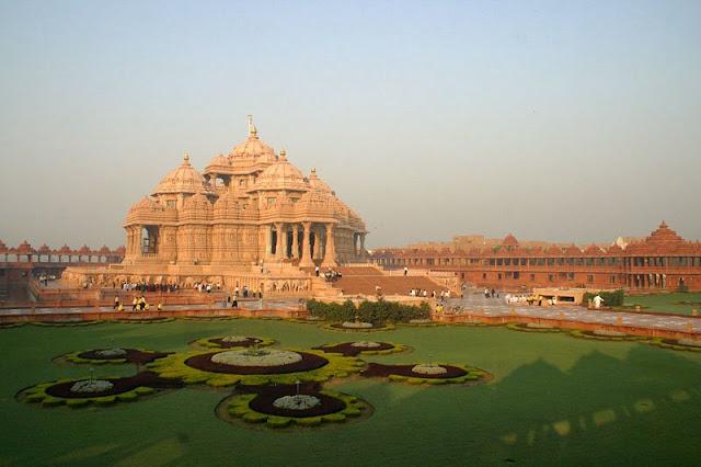 Swaminarayan Akshardham Temple Delhi India
