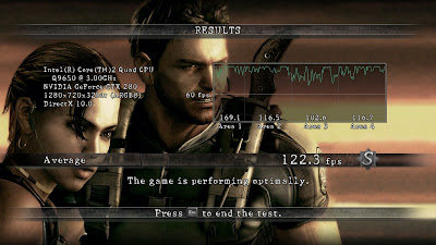 Resident Evil 5 PC 3D Vision Benchmark tool Download