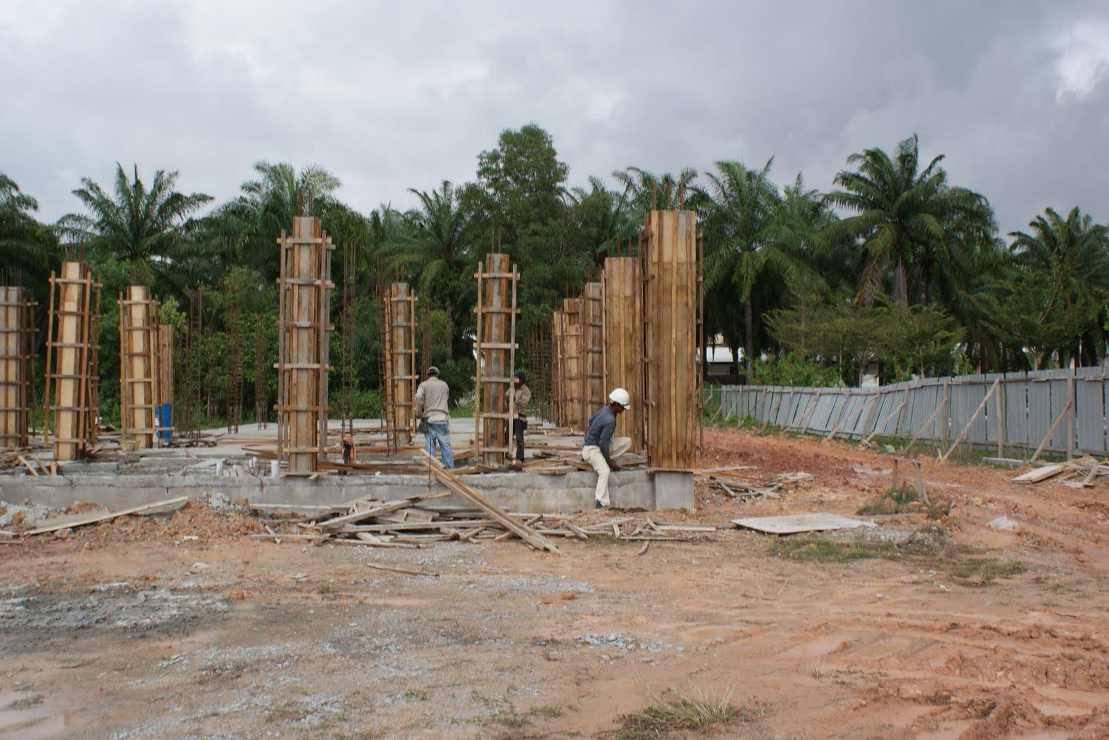 Gambar Tapak Pembinaan