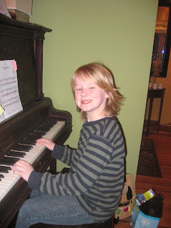 Jack playing piano