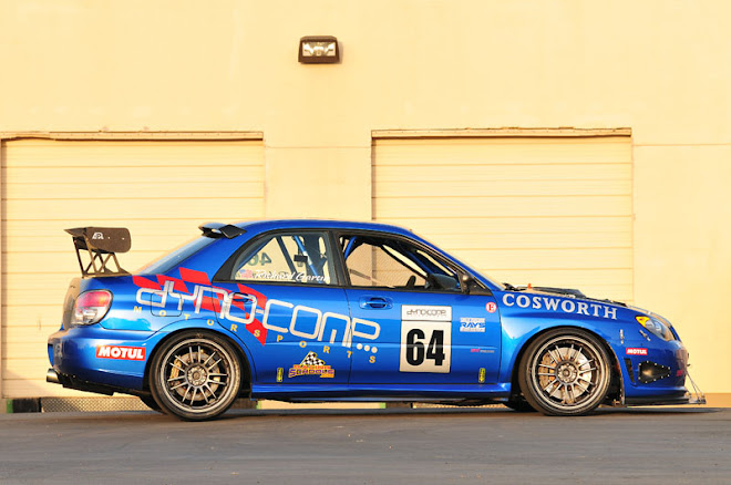 Dynocomp's awesome 700-HP time attack WRX STi.