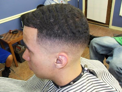 Black Men Taper Fade Haircut