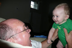 Kaleb loves his Grandpa!