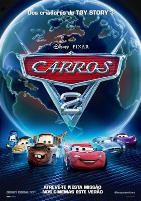 carros2 poster2 Carros 2 Dublado