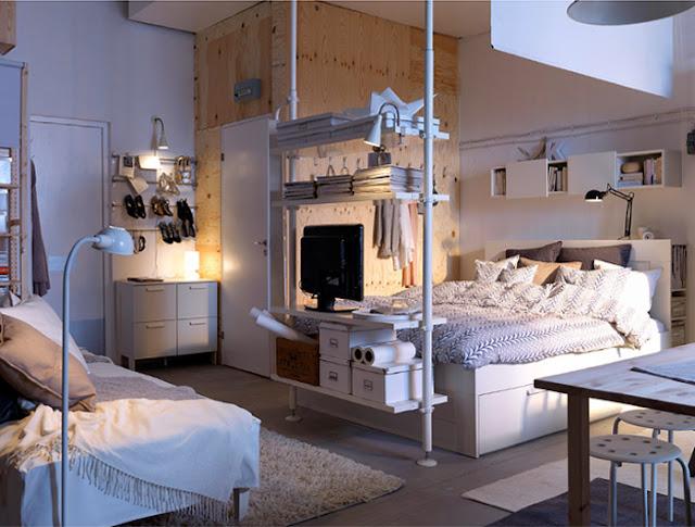 Design by herwell bedsit for Decoration studio 35m2