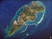 Guanaja .. courtesy of NASA