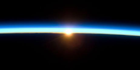 Nasa Sun through Earth's Atmosphere