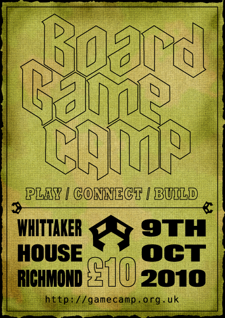 BoardGameCamp military poster