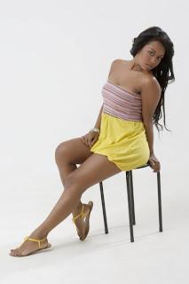 Melissa Caicedo, chicas morenas