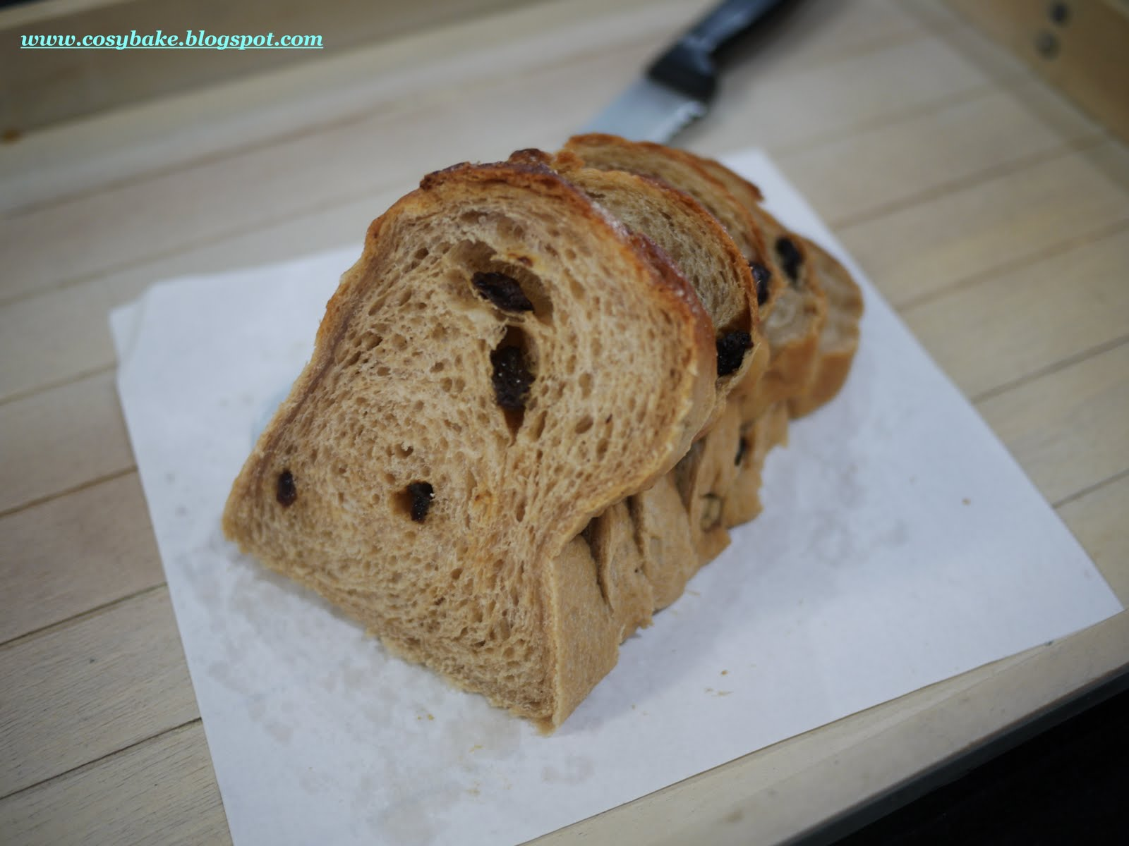 Cosy Bake: Brown Sugar Raisin Loaf
