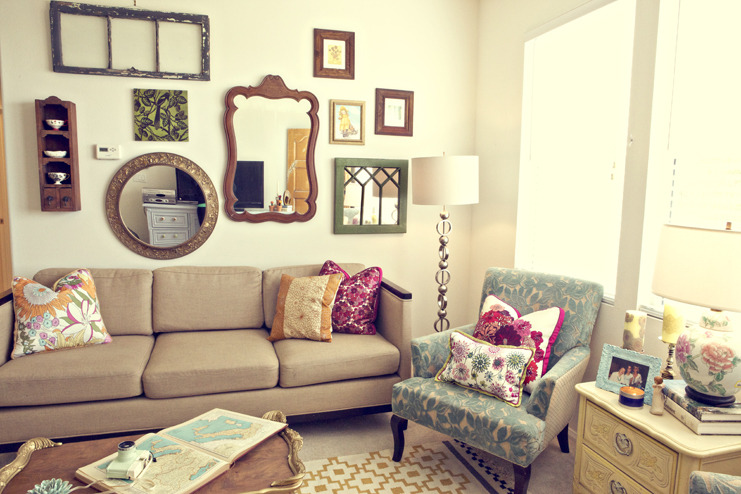 Vintage Pretty Eclectic Apartment