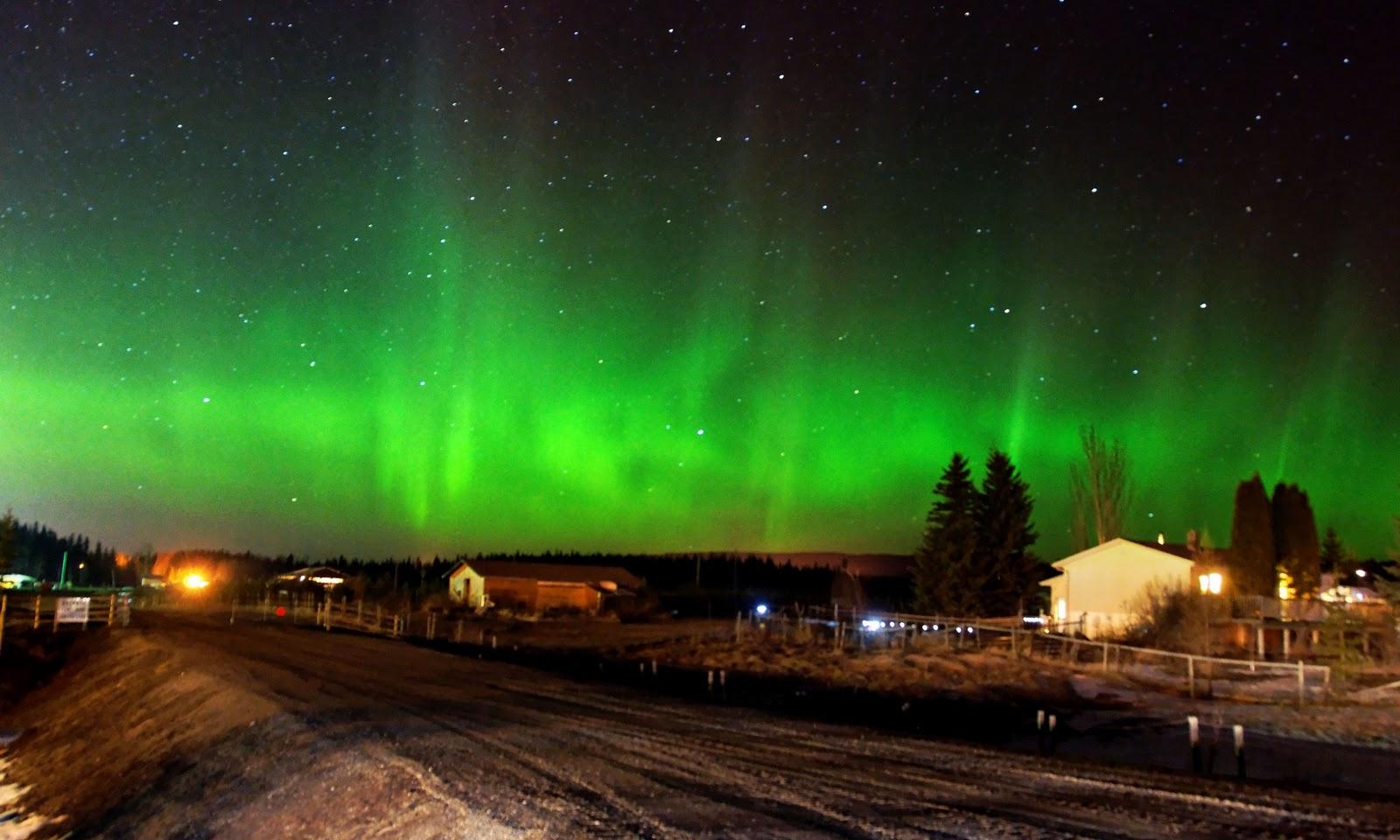 Northern Lights Alaska high resolution widescreen