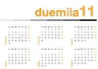 Calendari 2011 gratis