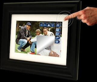 PanTouch Digital Touch Screen Picture Frame