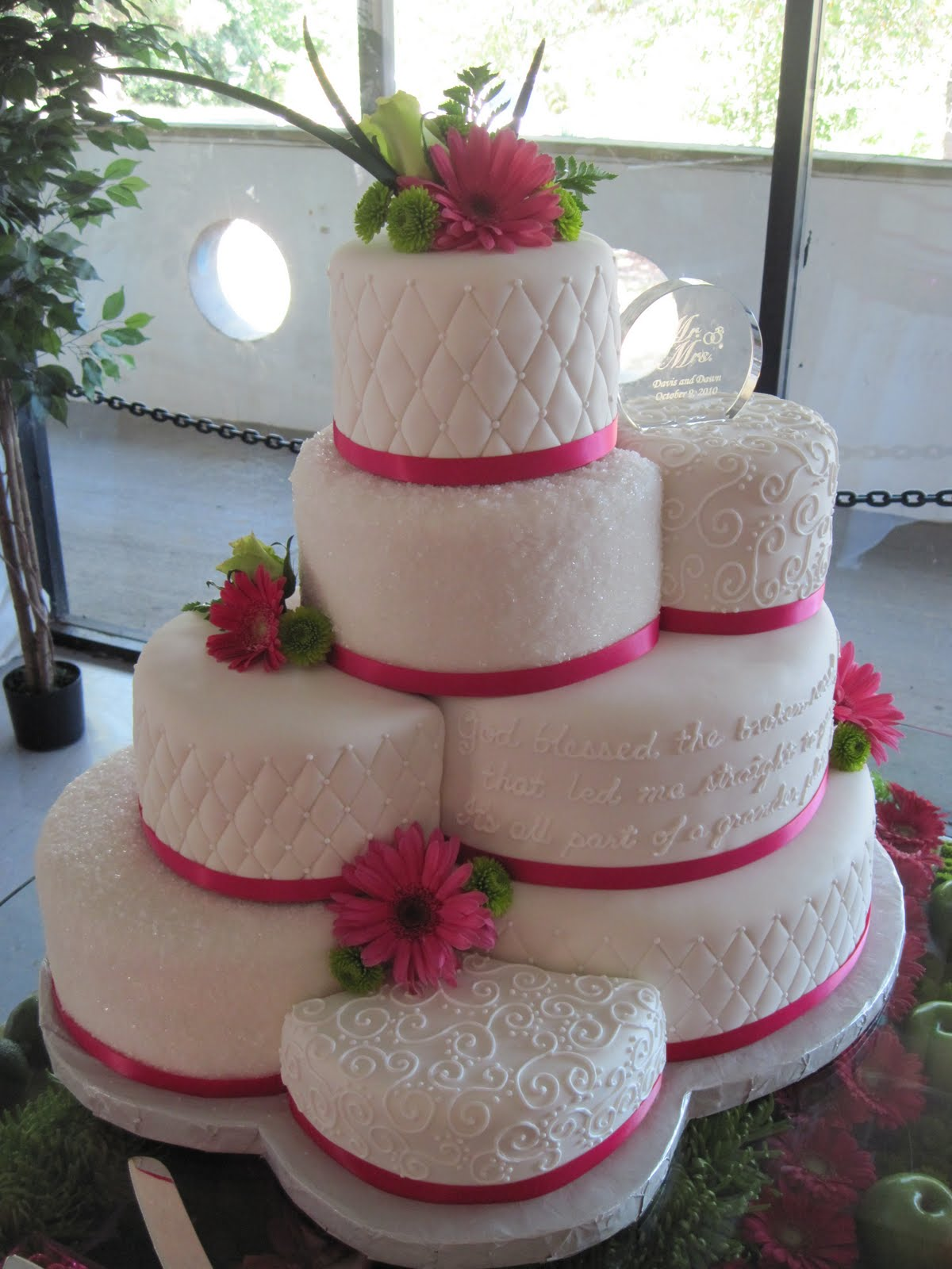 Heather s Cakes and Confections Wedding Cake