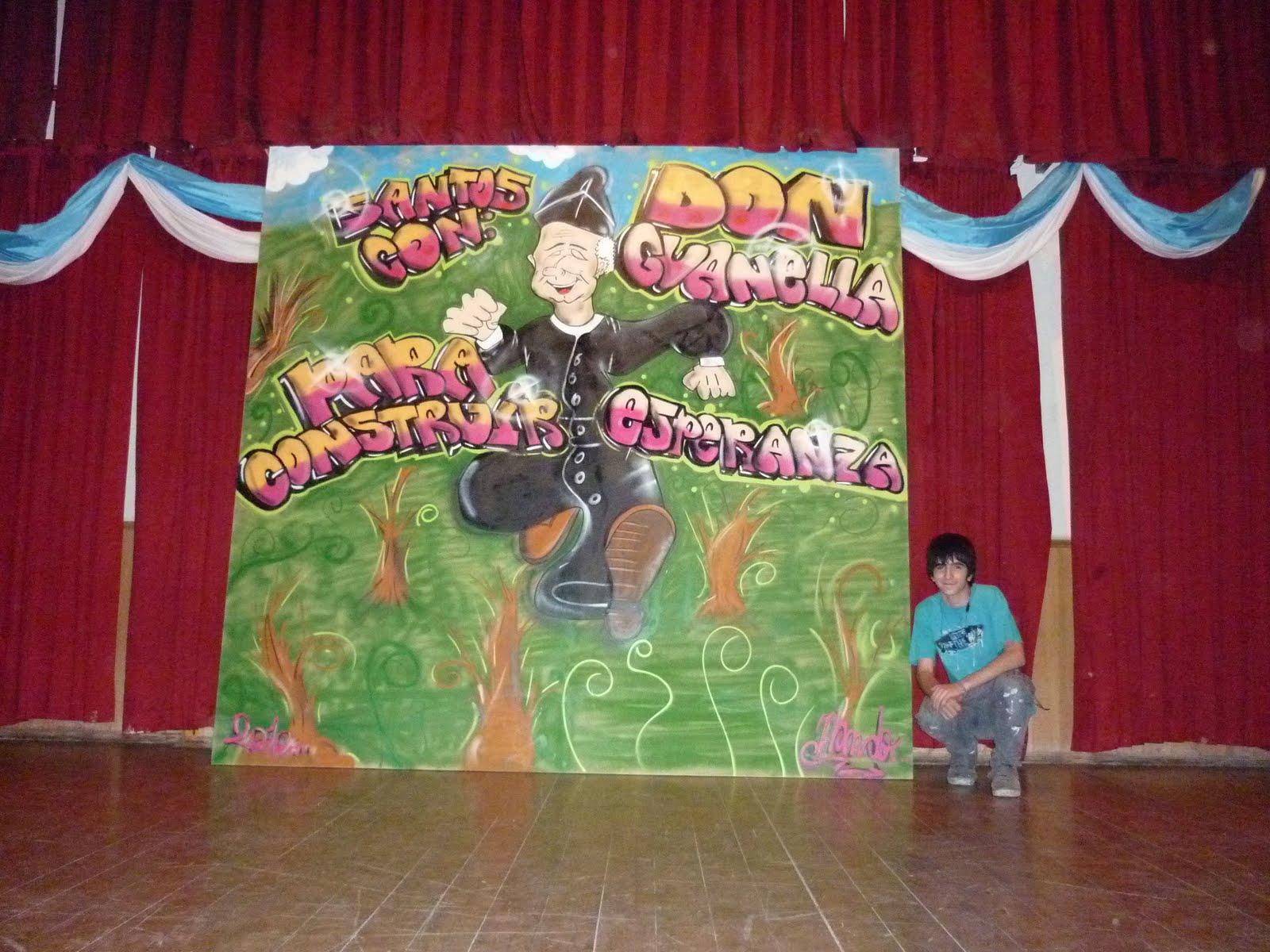 Pastoral juvenil y vocacional guanelliana argentina for El mural pelicula argentina