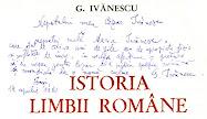 G. Ivănescu, Istoria limbii române (1980)