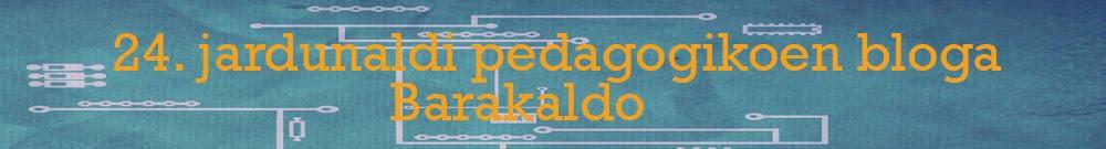 24. jardunaldi pedagogikoen bloga