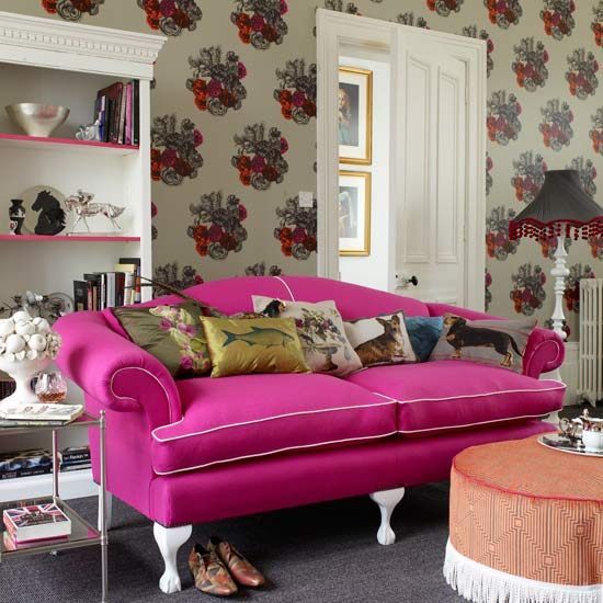 Eclectic Living Rooms - furniture living room
