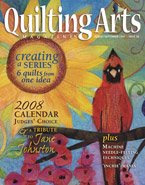 Quilting Arts Issue 28 Inchie article-Sept 2007
