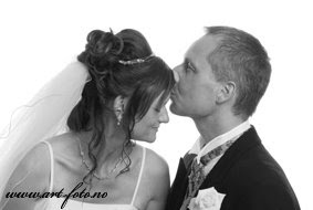 DSC 0363 - Flott brudepar i Juni