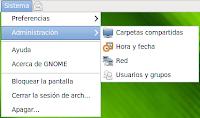 Arch Linux con la visualización de las fuentes predeterminada