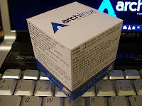 Arch Linux cheat cube